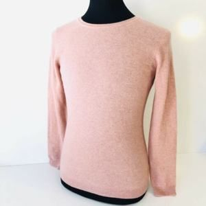 Charter Club Cashmere Luxury Sweater Pink Med